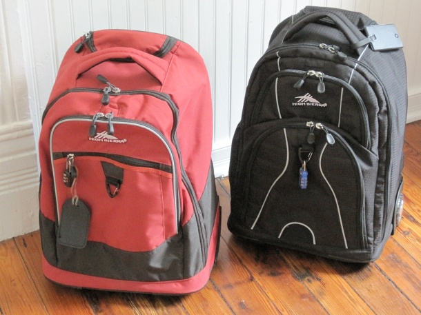 Rolling Backpacks