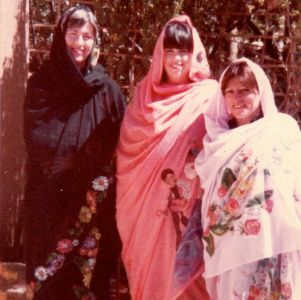 Carroll, Terri and Mary visit the Khartoum Fortune Teller