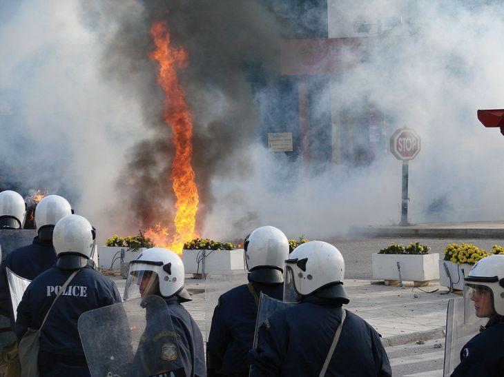 Athens riot 1