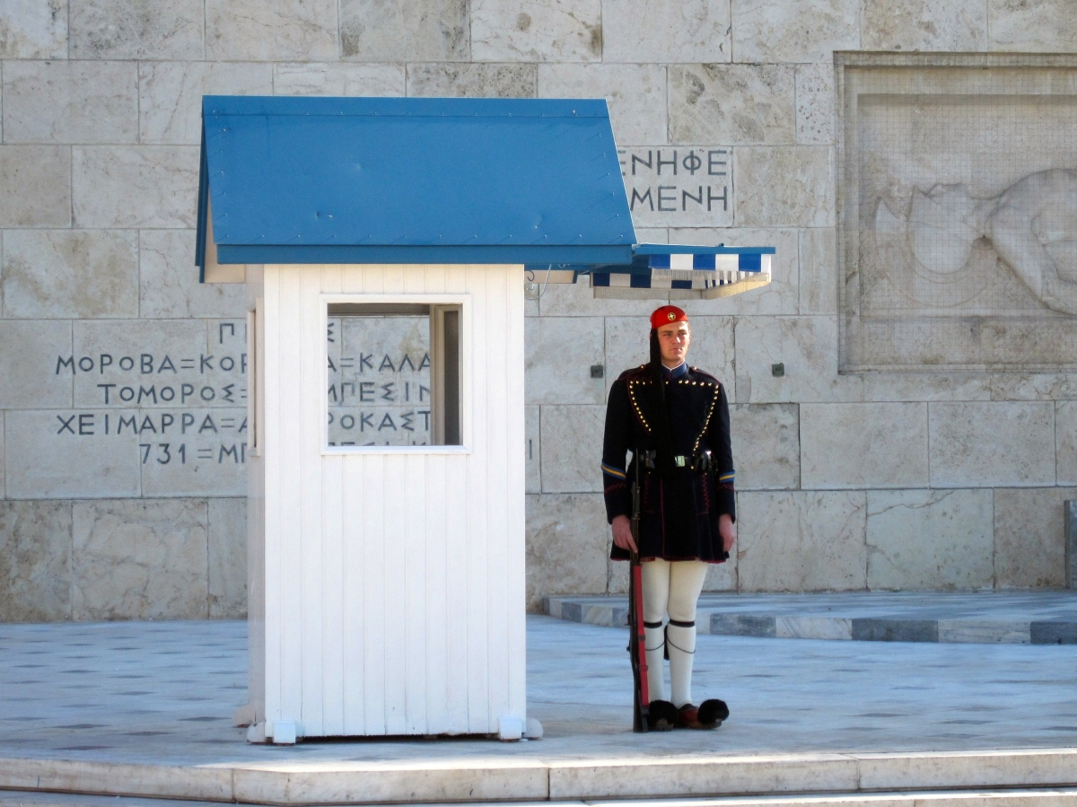 The Evzone Guards: Tall Men in Short Skirts