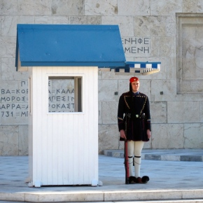 The Evzone Guards: Tall Men in ShortSkirts