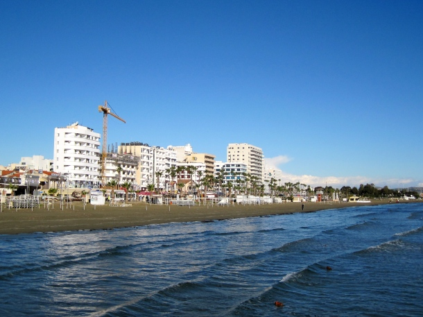 Larnaca from the Sea