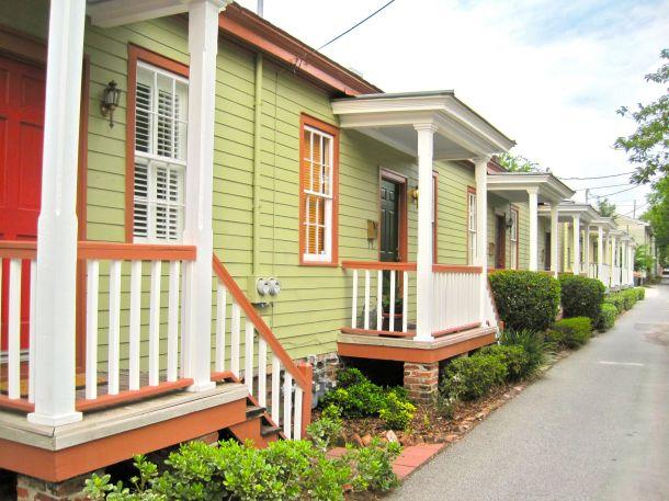 Savannah cottages