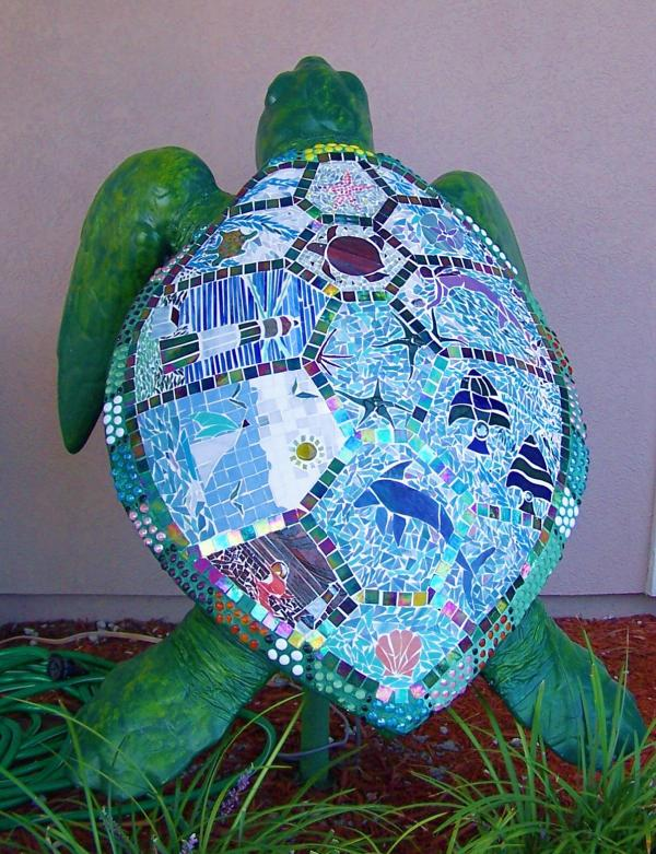 Tiffany Turtle by Mary Ingalls
