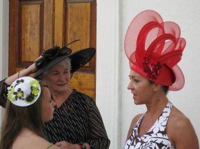 Steppin' Out: The Charleston Hat Ladies' Promenade
