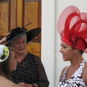 Steppin' Out: The Charleston Hat Ladies'Promenade