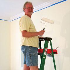 James on Ladder