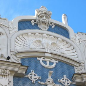 Riga's Beautiful Art Nouveau: The Icing On the Cake