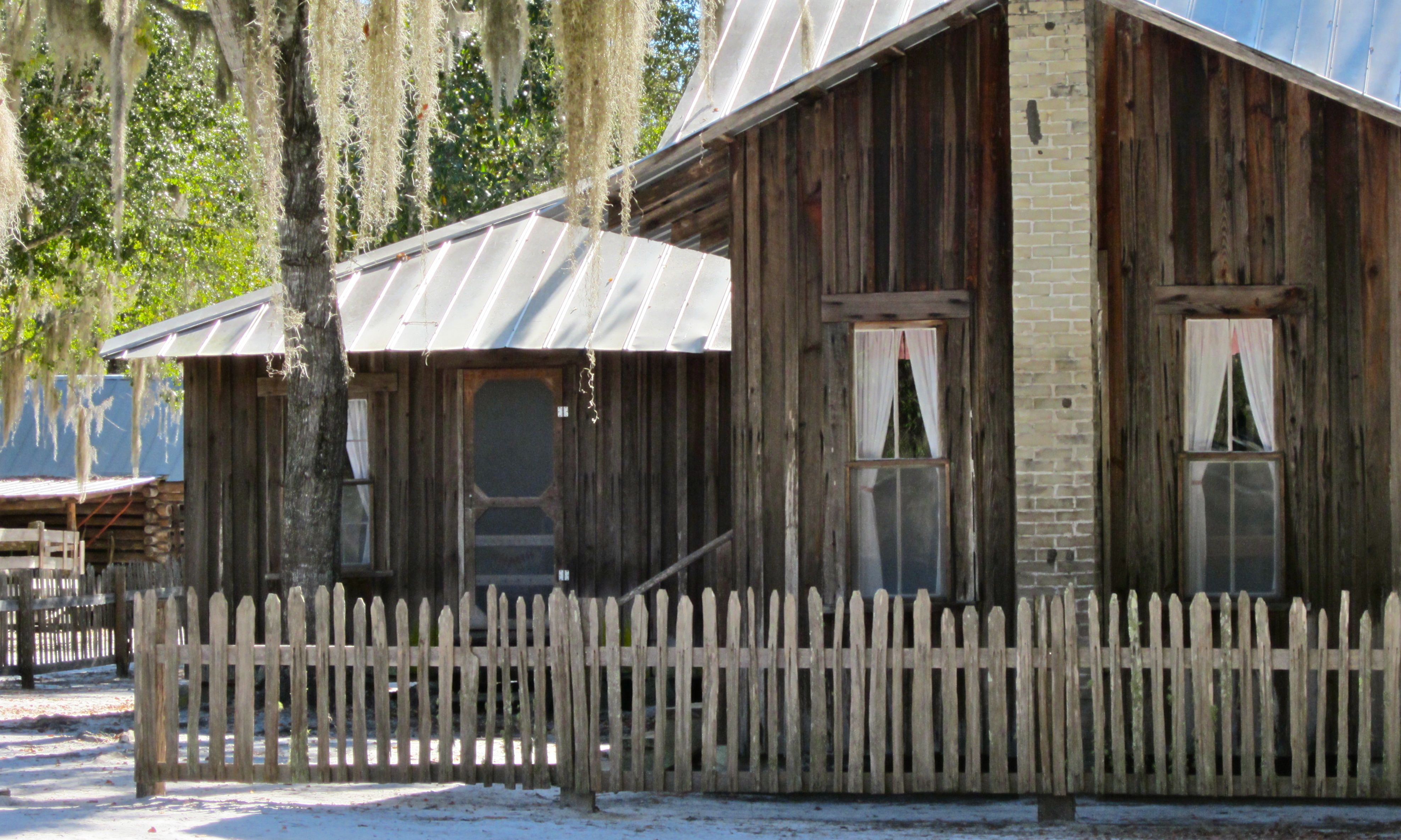 Living off the grid in the okefenokee swamp gallivance for Board and batten cabin plans