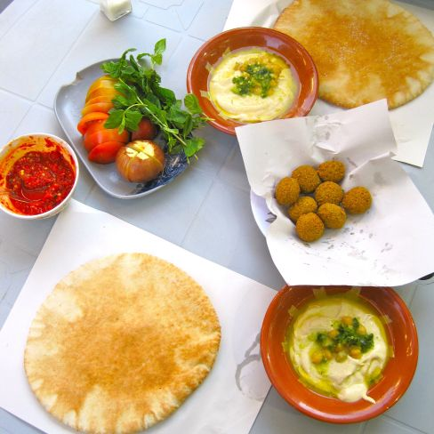 Falafel in Amman, Jordan
