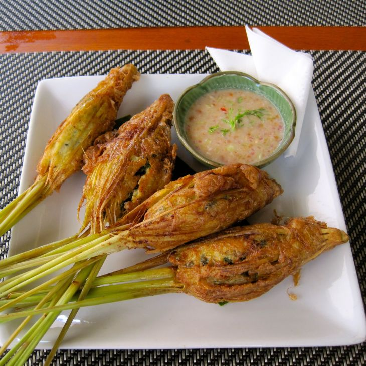 Stuffed Lemongrass