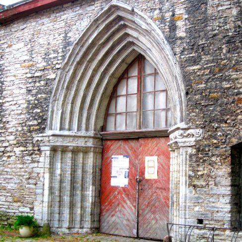 Classy Gothic stable door. Tallinn, Estonia