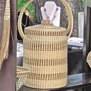 Artisan Sweetgrass Baskets: PureGenius!