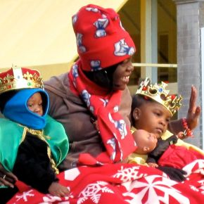 Scenes from a Charleston Christmas Parade
