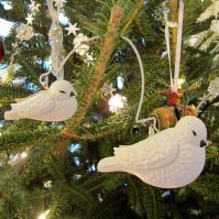"""Turtle Doves. My sister Susan and I are big fans of the """"Home Alone"""" movies, so a pair of turtle doves is a must."""