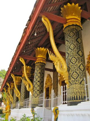 Columns with Nagas