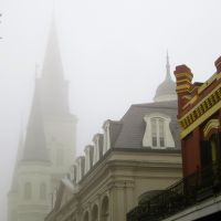 Jackson Square in the Fog