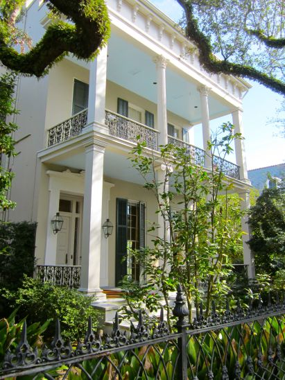 Garden District Tan House
