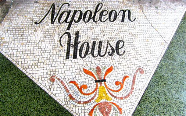 Napoleon House Sign