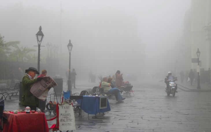 Tarot in the fog