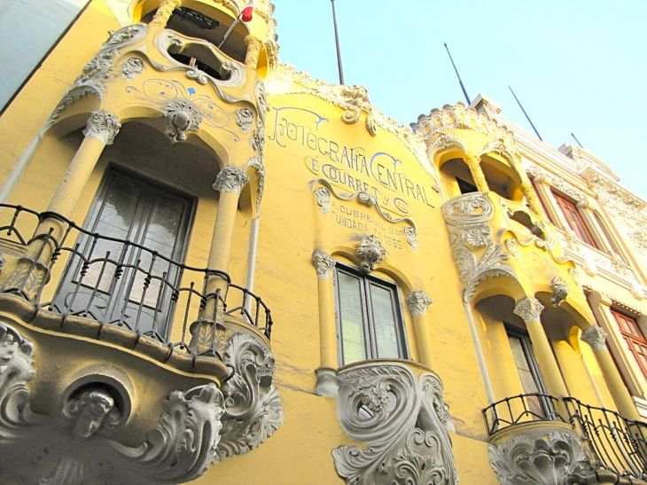 Art Nouveau Balcony Lima