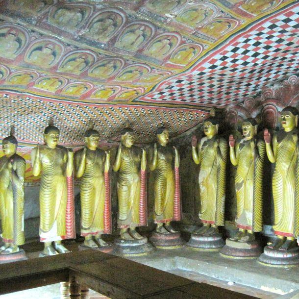 Buddhas in corner