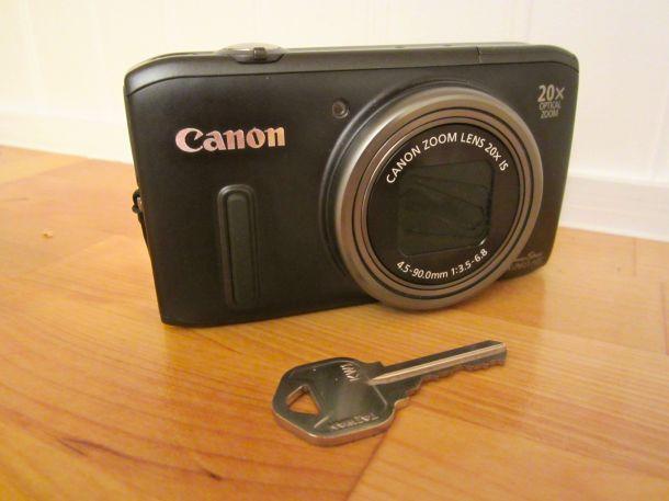 Camera with Key