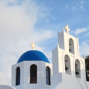 Santorini Churches: The Definition of Simple Beauty