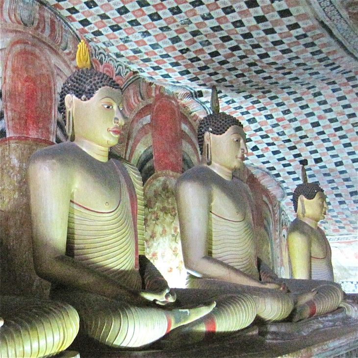Dambulla Cave Buddhas