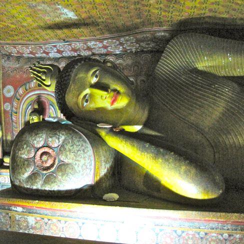 Dambulla Cave Reclining Buddha