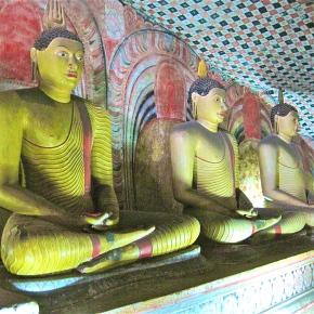 Dambulla's Amazing CaveTemples