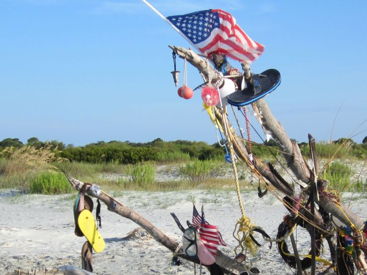 July 4th Beach Tree