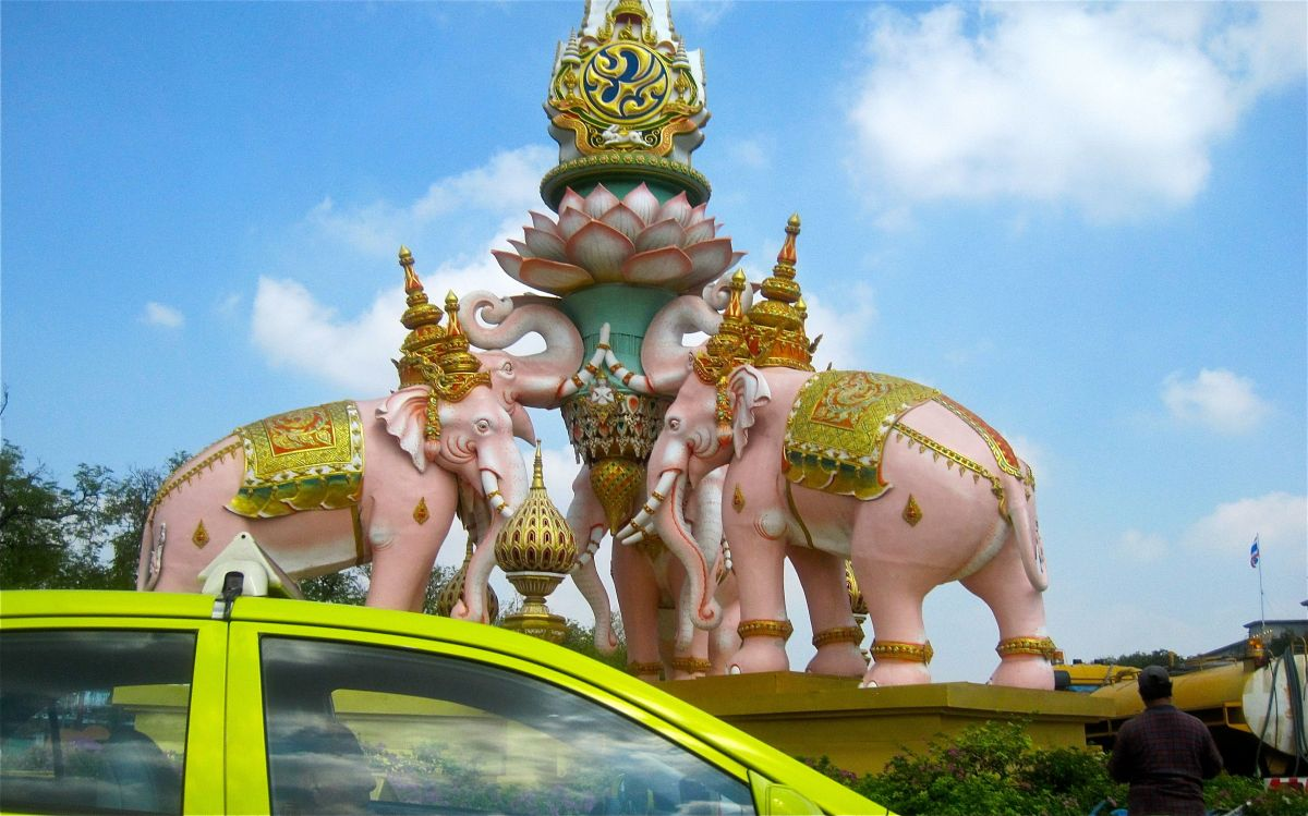 Chasing Pink Elephants in Bangkok