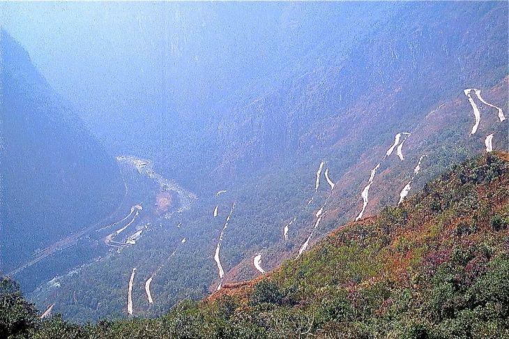 Road to Machu Picchu