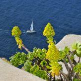 Sailboat Santorini