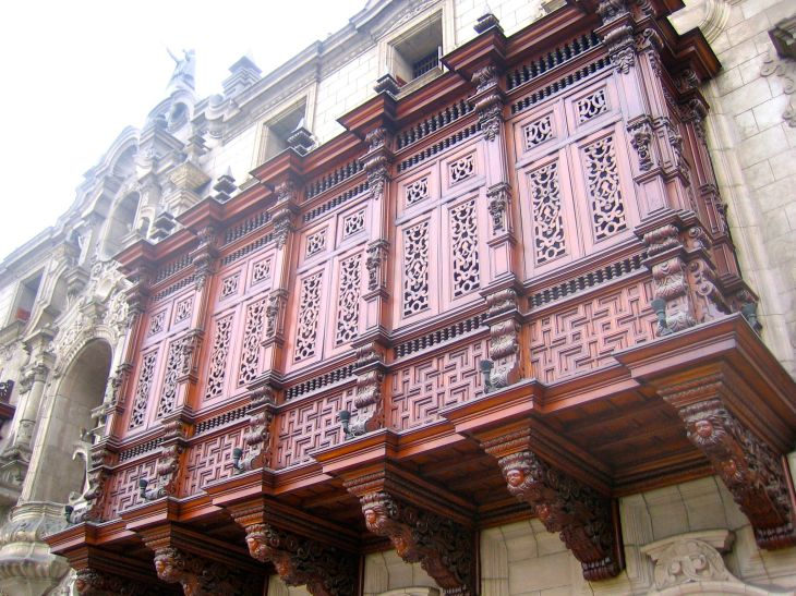 Archbishop Palace Lima Balcony