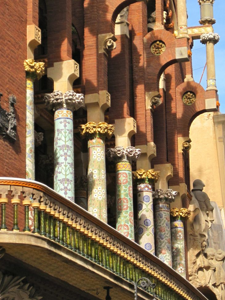 Columns + Balustrade
