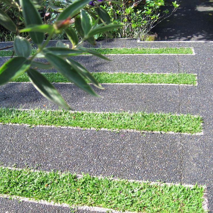 Grass strips
