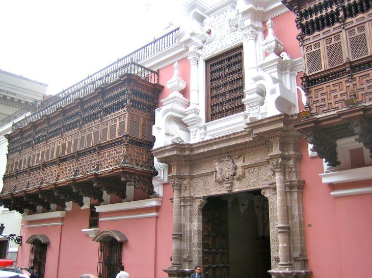 Torre Tagle Palace Balconies