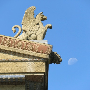 Griffin and Moon