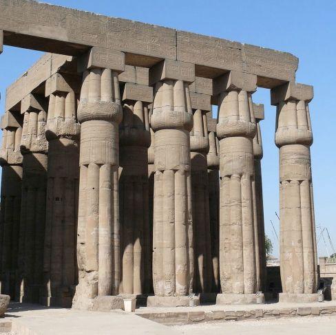 Luxor Temple Lotus Columns