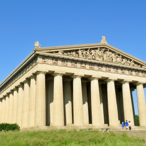 The Perfect Greek Temple: Right At Home In Nashville