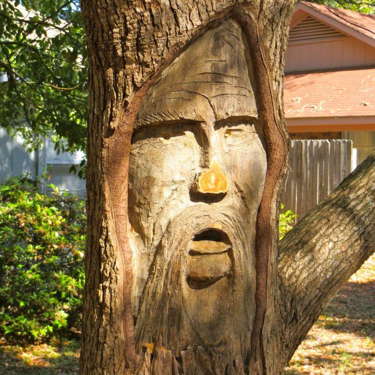 Tree spirit front yord