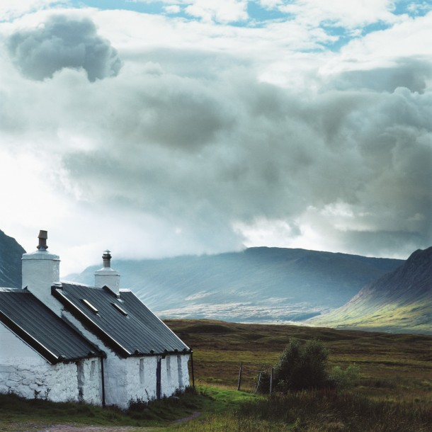 Cottages Overlooking Scenic Valley