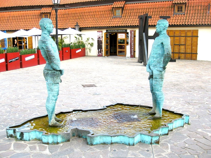 Peeing Statues