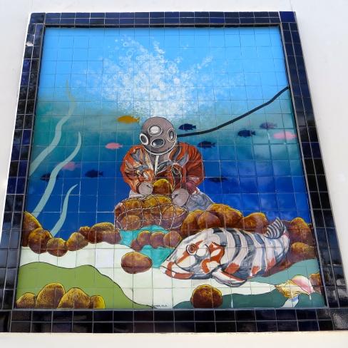 Diver Mural