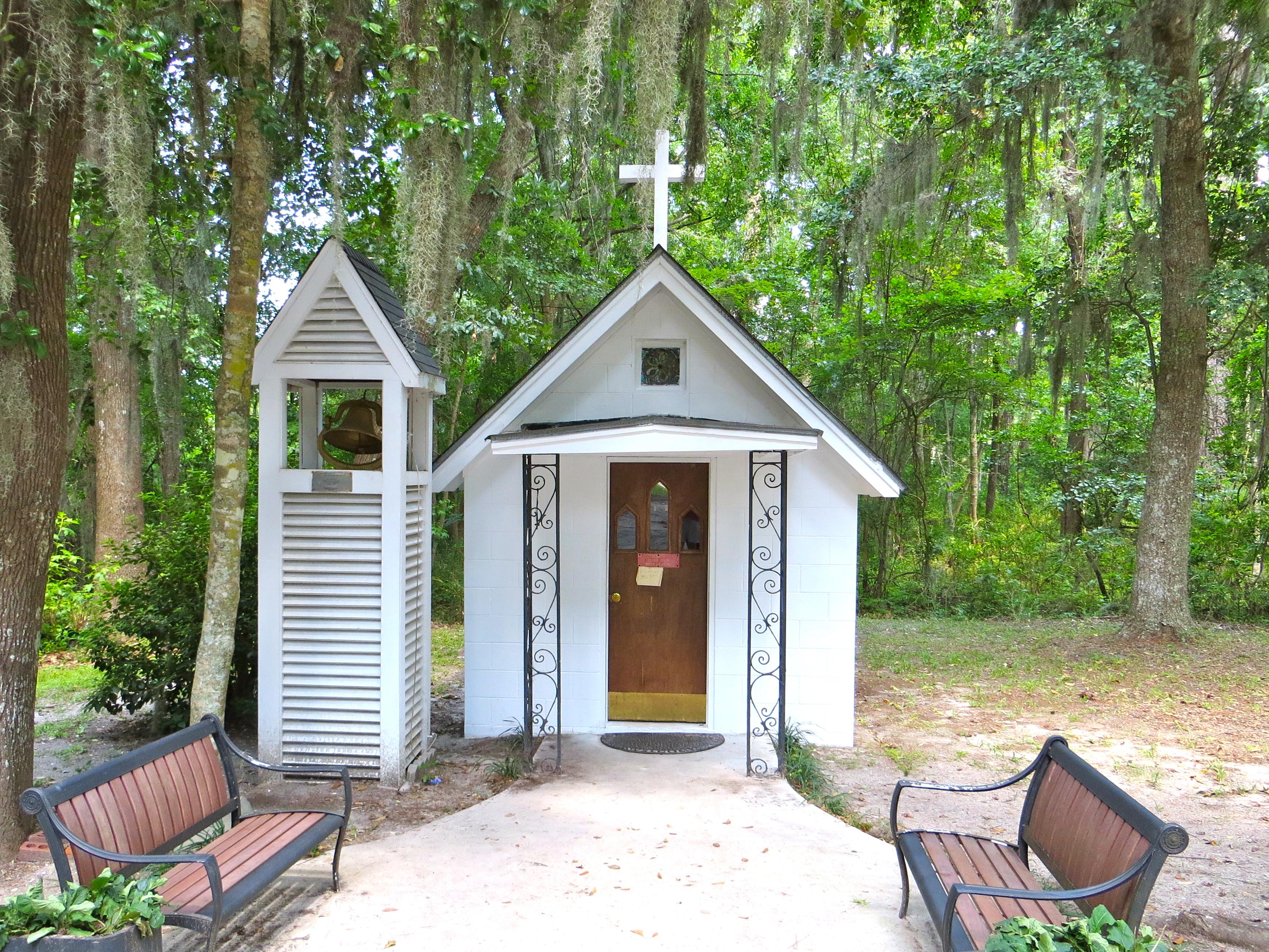 Roadside Americana The Smallest Church In America