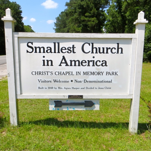 Smallest Church Sign