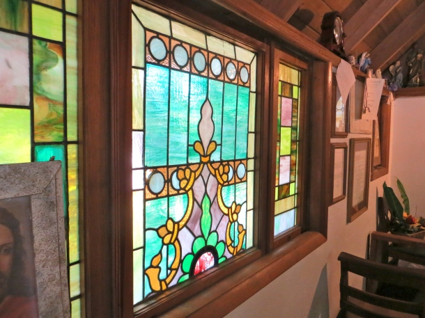 Stained Glass Wall