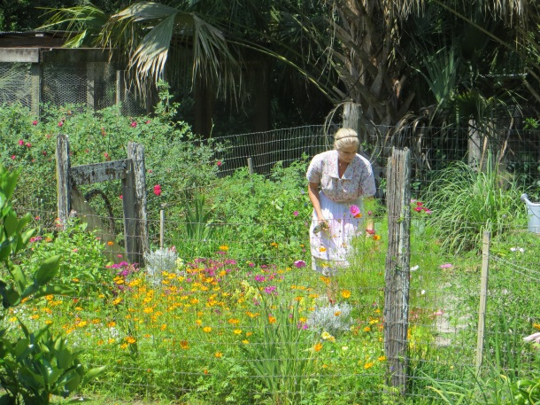Woman in MKR Garden